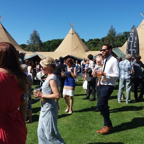 Wedding parties in Norfolk
