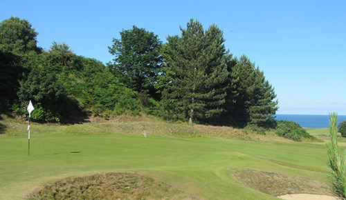 Royal Cromer Golf Club in the Summer.