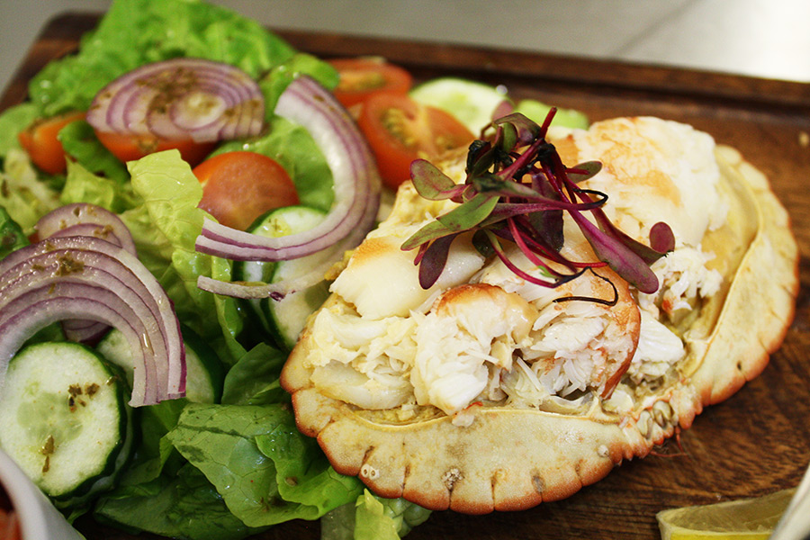 Cromer Crab salad.