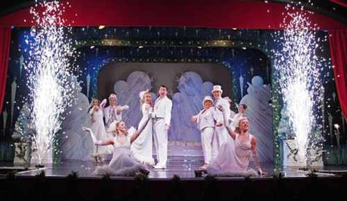 Cromer Pier Christmas Show.