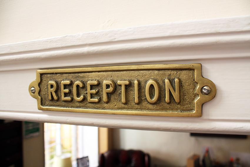 Reception.