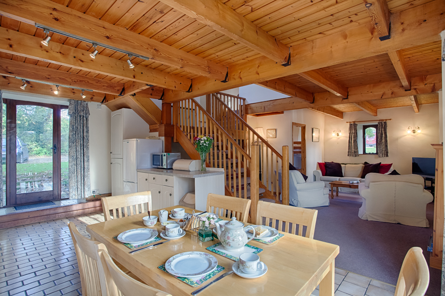 The Barn holiday cottage.