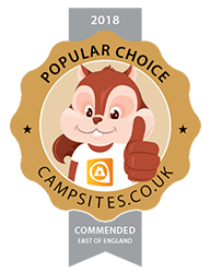 commended in our Best Glamping Site (East of England).
